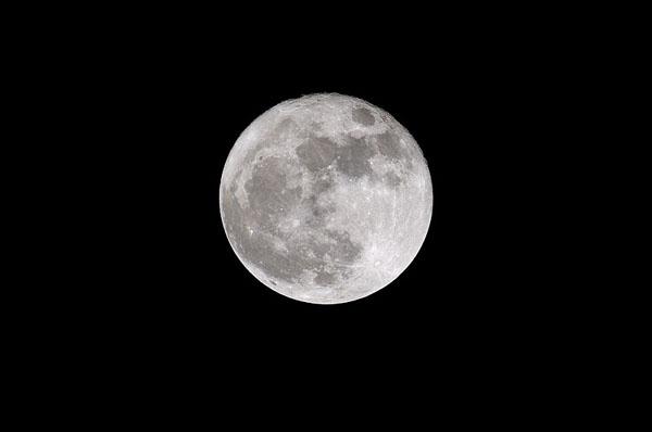 Full Moon at Lunar Perigee